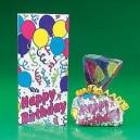 Happy Birthday Cellophane Bags