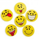 Goofy Smile Face Erasers