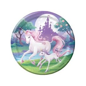 Unicorn Lunch Plates