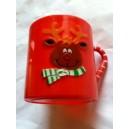 Red Holiday Reindeer Mug