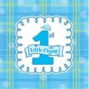 Celebrate 1 - Boy Luncheon Napkins