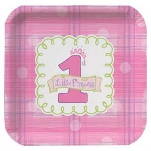 Pink Celebrate 1 Dinner Plates