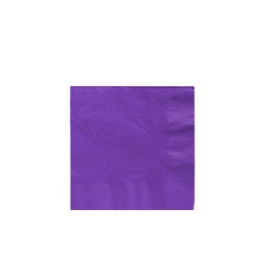 Purple Luncheon Napkins - 50 pack